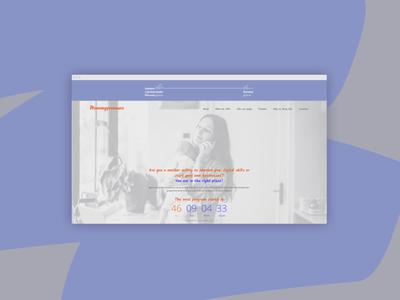 Mommypreneurs branding web design