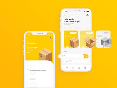 InPost App Design Concept
