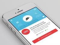 Voucher App design #1