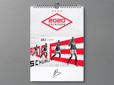 Calendar Spartak Moscow 2020