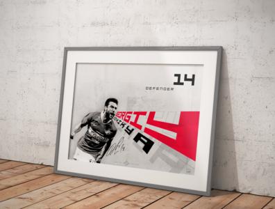 "Poster ""Georgiy Dzhikya"""