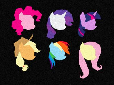 MLP FiM: Pony Heads