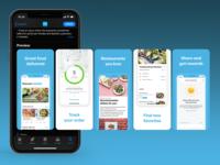 Appstore Screenshot designs