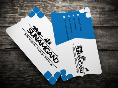 logo with corporate business card