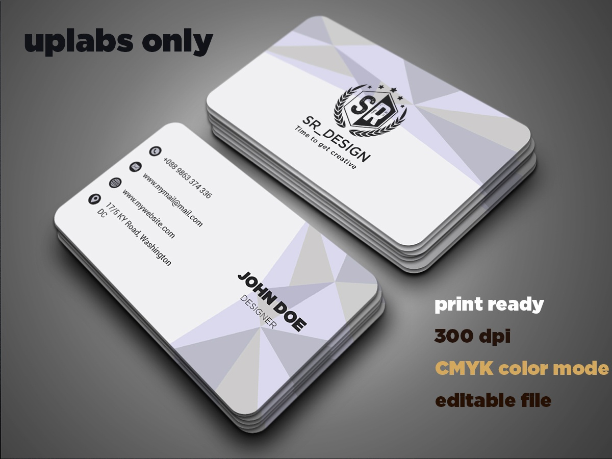 Business Card branding business card corporate
