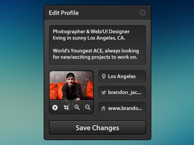 Edit profile   dribbble