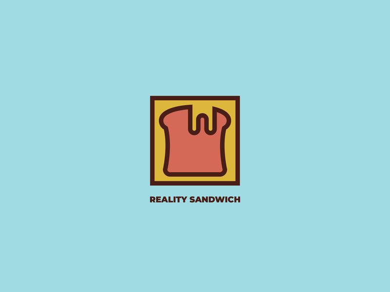 REALITY SANDWICH illustrator branding logo design