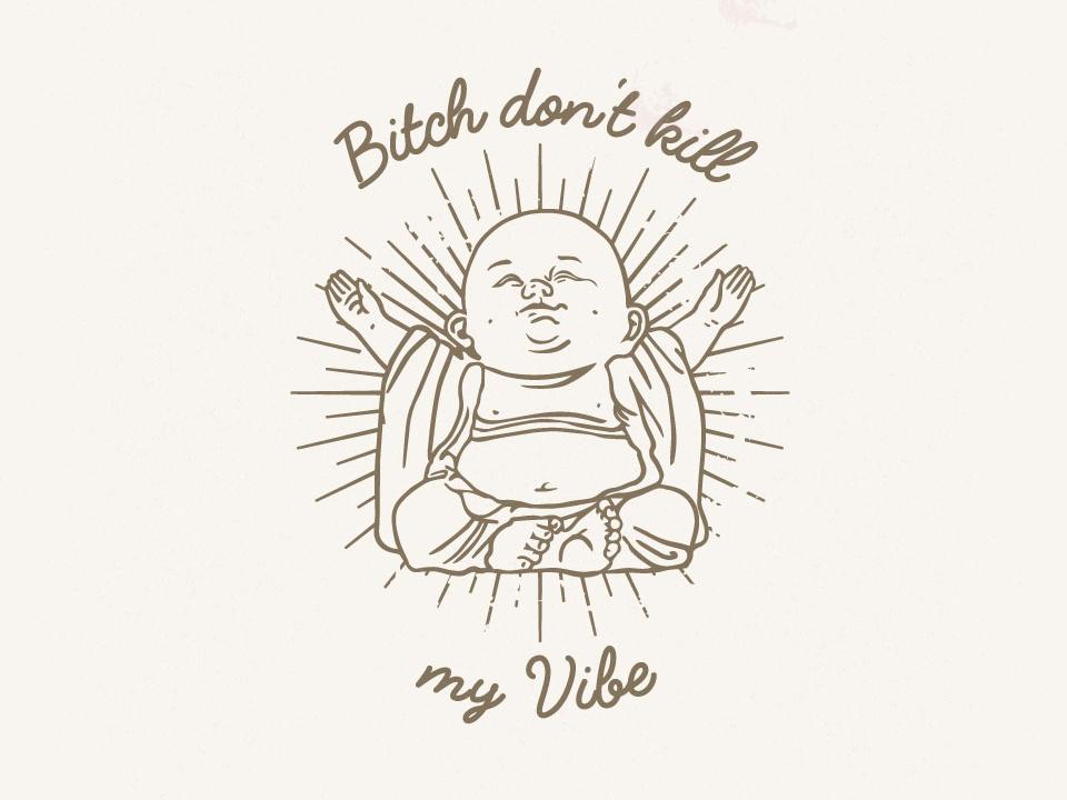 Vibe vector illustration design illustrator branding logo