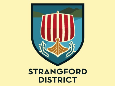 Scout Badge scouting strangford badge