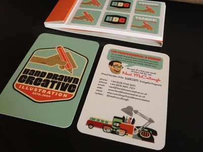 New cards from Moo! branding business cards stickers stationery