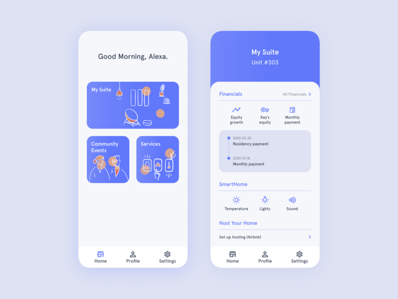 Key Living Mobile Application