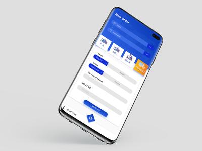 new order shipping app