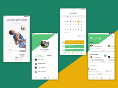 Soccer Club Mobile App