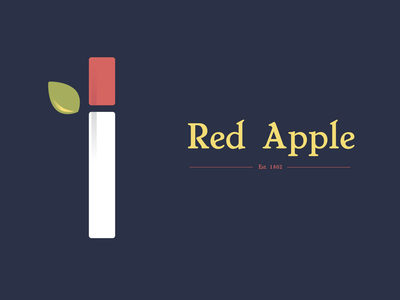 Red Apple Cigarettes Logo