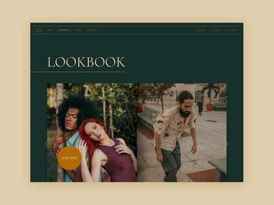 OAKAO Lookbook website webdesign web ui product lookbook graphicdesign figmadesign figma fashionbrand fashion ecommerce design