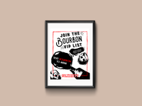 Bourbon VIP List Poster v2