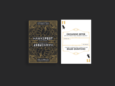 Hawkefest 2019 Playing Cards