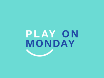 Play on Monday logo - concept 3