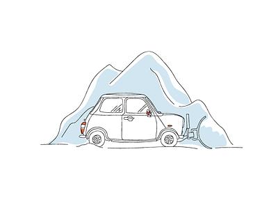 February plow snow winter north car mini save me