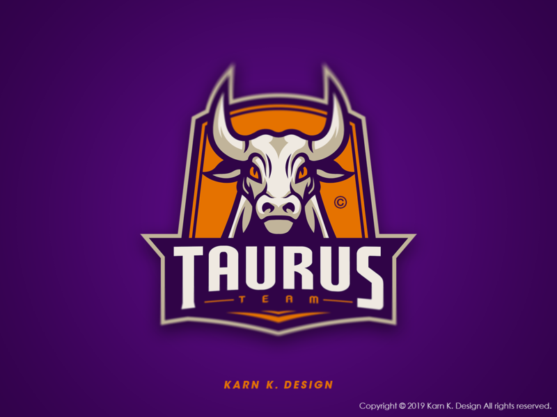 Taurus animal logo buffalo icon mascot logo csgo vector design branding sports logo mascot logo illustration esports logo sport gaming esports esport