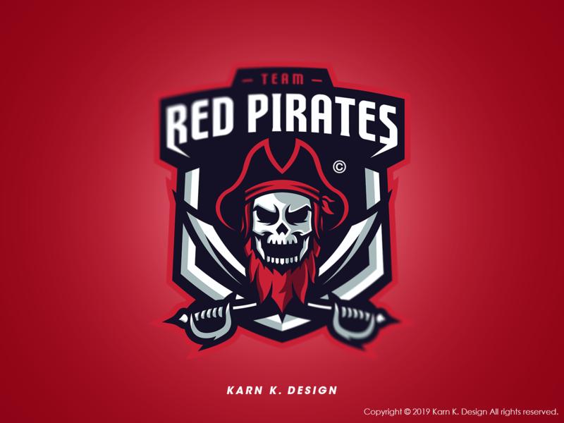 Red Pirate Logo csgo icon animal logo mascot logo vector esports logo esports esport design branding sports logo mascot logo illustration gaming sport