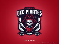 Red Pirate Logo