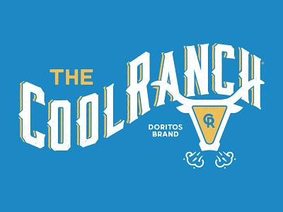 Doritos Cool Ranch western logos doritos chips cowboy bull ranch