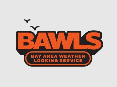 Bay Area Weather Looking Service. (B.A.W.L.S.) clouds weather forecast radio basketball