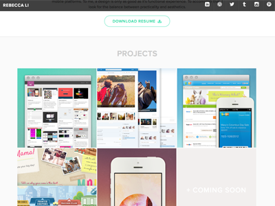 Guess what? New Portfolio! portfolio ui design visual design product design