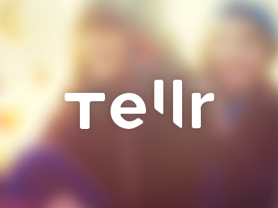 Tellr Logo logo brand new project