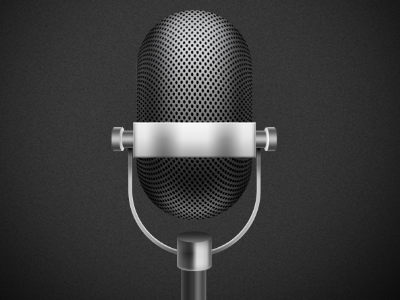 mic for app- WIP app mic ui icon illustration