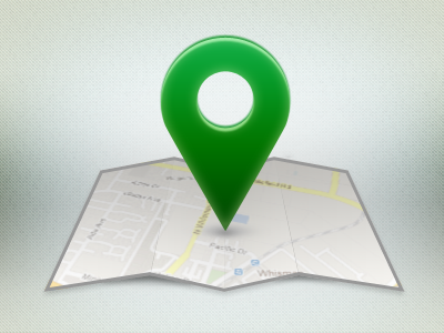 Pin point location mapp icon pin drop icon illustration iconography iphone app