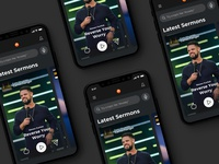 Elevation Church App - Dark Mode