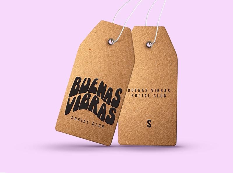 Buenas Vibras SOCIAL CLUB - Labels clothing label label design labels clothing design fashion logo design clothing
