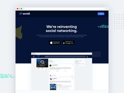 Sociall - Web & App Design / Development