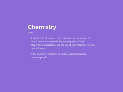 Chemistry header