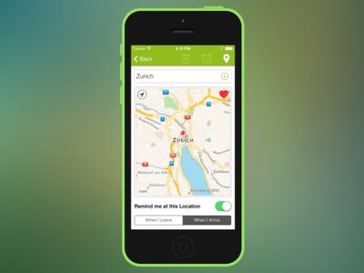 ListBook 4 LocationView ios iphone todo noidentity ipad blurred todo app