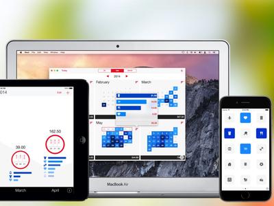 Next - Expense Tracking Suite ios mac yosemite ui next expense finance statistics app