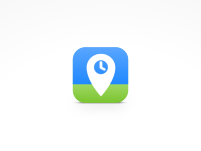 Rewind Icon icon ios iphone time tracking location