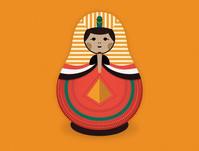 Egypt Matryoshka