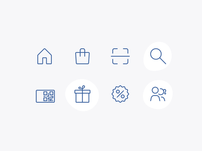 Did you find what you were looking for? loyalty shopping icons line