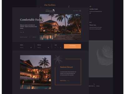 Hotel and Resort Website