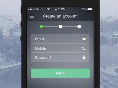 Create an account .