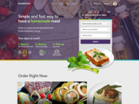 food delivery site.