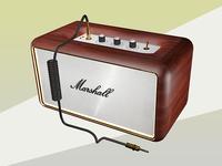 Marshall Loudspeaker 3D.