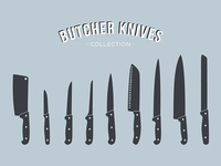 Butcher Knives Collection