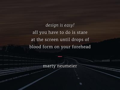 Design is Easy!