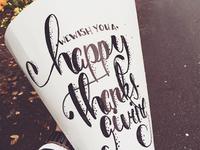 Happy Thanksgiving Type