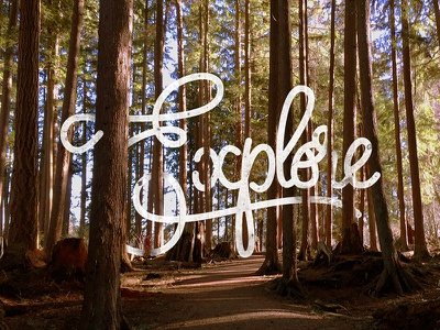 Explore font handmade texture cool effect lettering nature adventure ecplore design type