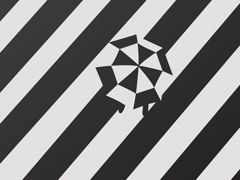 Illusion illusion space color minimal design illustration vector